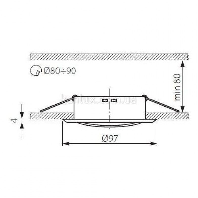 Kanlux Argus CT-2115-BR/M (00330)