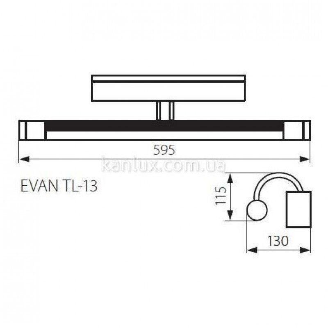 Kanlux Evan TL-13 (00536)