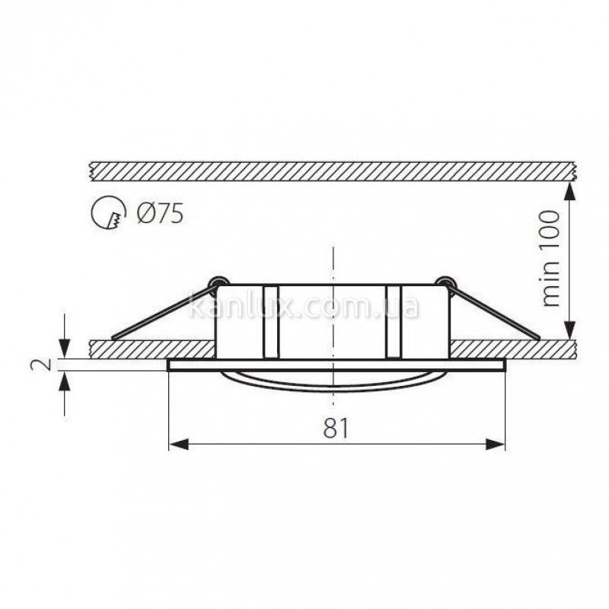 Kanlux Navi CTX-DT10-W (02550)
