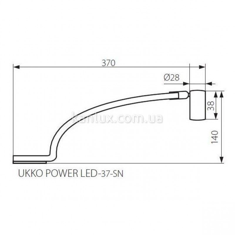Kanlux Ukko POWER LED-37-SN (08321)