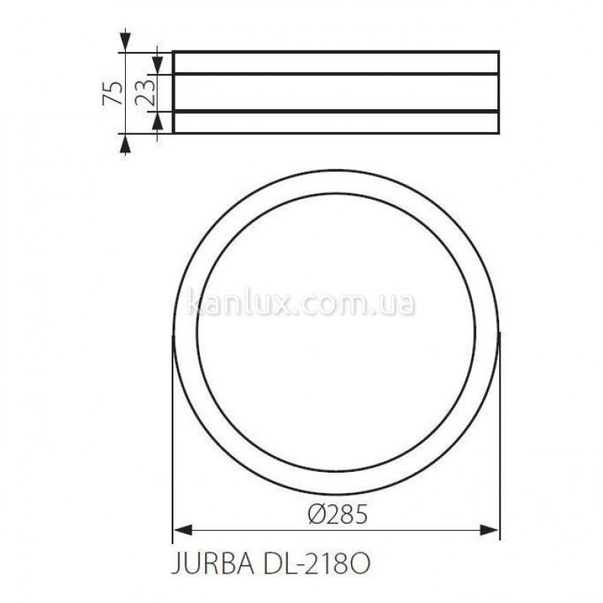 Kanlux Jurba DL-218O (08980)