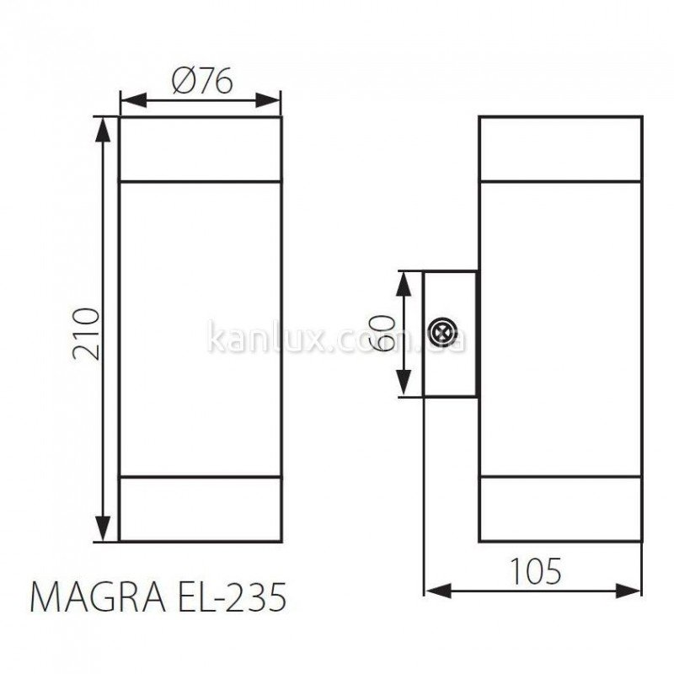 Kanlux Magra EL-235 (18011)