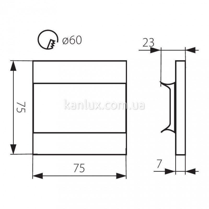 Kanlux Terra LED CW (23104)