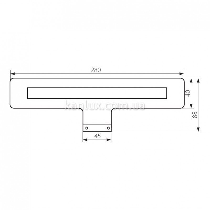 Kanlux Platen LED CW (23661)