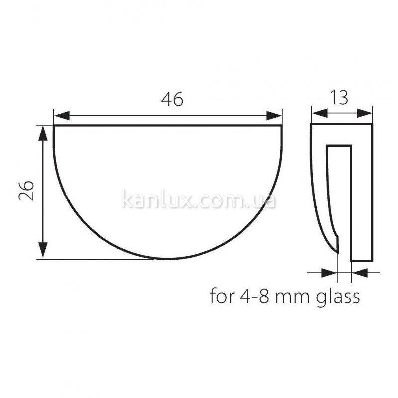 Kanlux Clampo LED CW (23691)