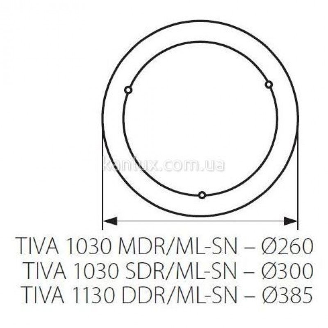 Kanlux Tiva 1130 DDR/ML-SN (70710)