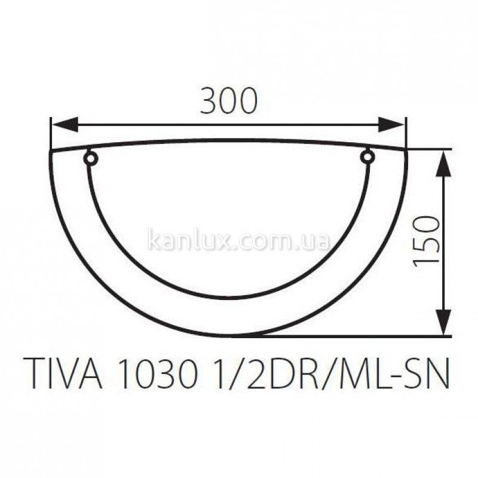 Kanlux Tiva 1030 1/2DR/ML-SN (70740)