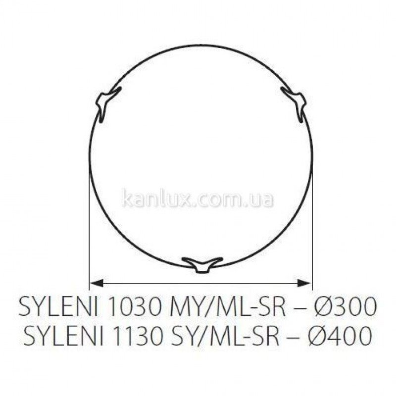 Kanlux Syleni 1030 MY/ML-SR (70795)