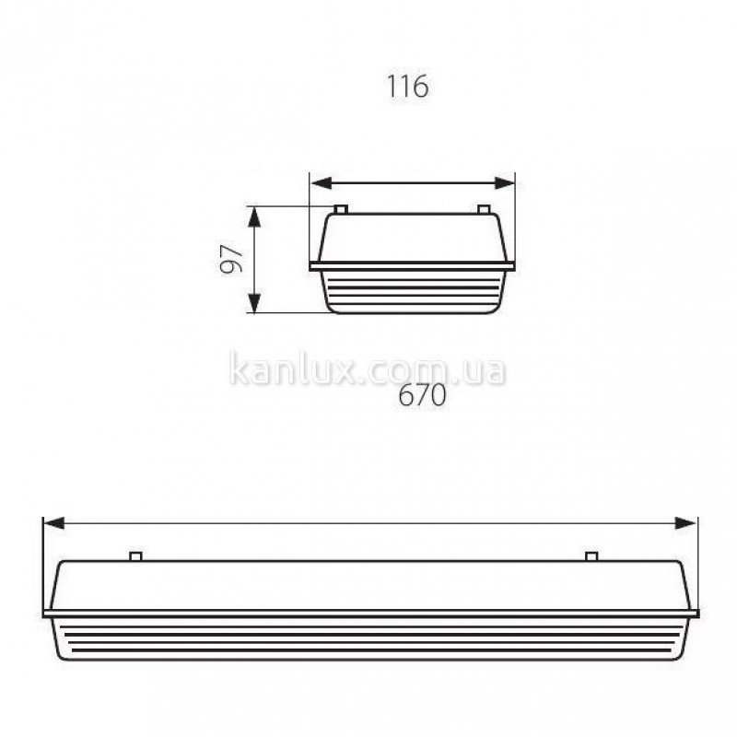 Kanlux MAH-T8 LED SMD MAH-210-T8-LED-UP-1 (910282)